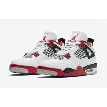 Boty Nízké tenisky Nike Jordan 4 Tech Red White/Fire Red/Black/Tech Grey