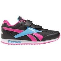 Boty Děti Nízké tenisky Reebok Sport Royal CL Jogger Černé, Modré, Růžové