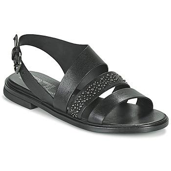 Boty Ženy Sandály Mjus GRAM Černá