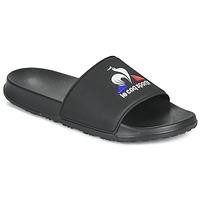 Boty Muži pantofle Le Coq Sportif SLIDE LOGO Černá
