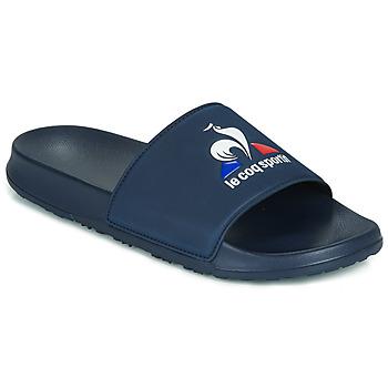 Boty Muži pantofle Le Coq Sportif SLIDE LOGO Modrá