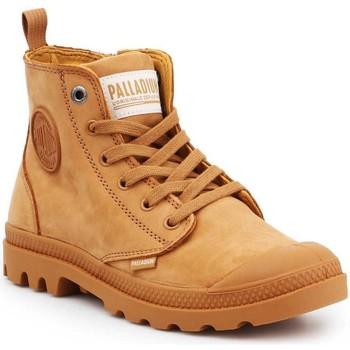 Boty Ženy Kotníkové tenisky Palladium Pampa HI ZIP NBK 96440-717-M brown
