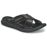 Boty Muži pantofle Bugatti IDAHO Černá