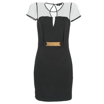 Morgan Krátké šaty ROULA - Černá