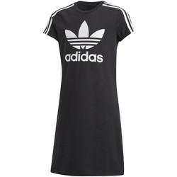 Textil Dívčí Krátké šaty adidas Originals FM5653 Černá