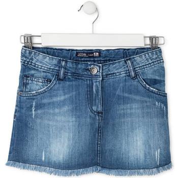 Textil Dívčí Sukně Losan 714 7024AB Modrý