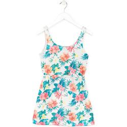 Textil Dívčí Krátké šaty Losan 714 7041AB Bílý