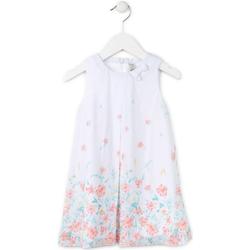 Textil Dívčí Krátké šaty Losan 716 7784AD Bílý