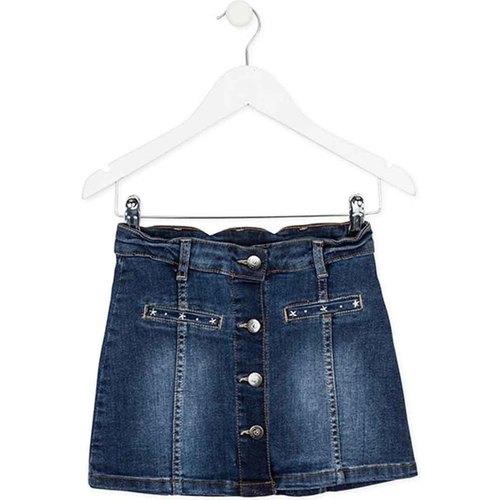 Textil Dívčí Sukně Losan 724 7018AB Modrý