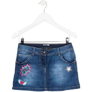Textil Dívčí Sukně Losan 724 7008AB Modrý