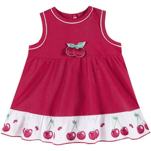 Textil Dívčí Krátké šaty Chicco 09003398000000 Červené