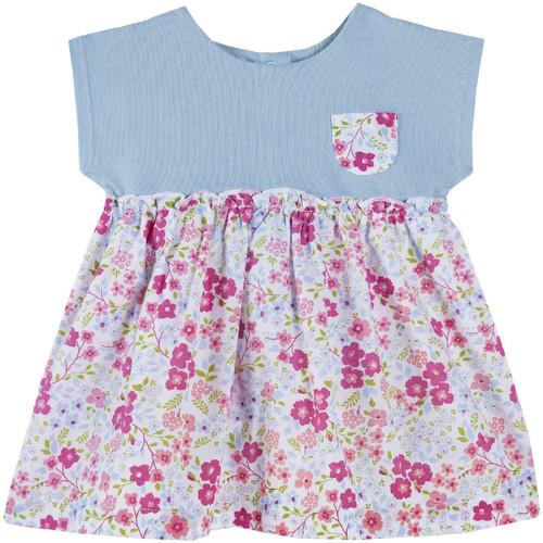 Textil Dívčí Krátké šaty Chicco 09003412000000 Modrý