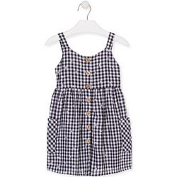 Textil Dívčí Krátké šaty Losan 016-7002AL Modrý