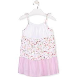 Textil Dívčí Krátké šaty Losan 016-7030AL Bílý