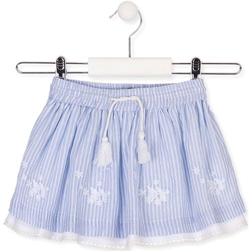 Textil Dívčí Sukně Losan 016-7060AL Modrý