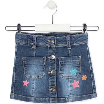 Textil Dívčí Sukně Losan 016-7061AL Modrý