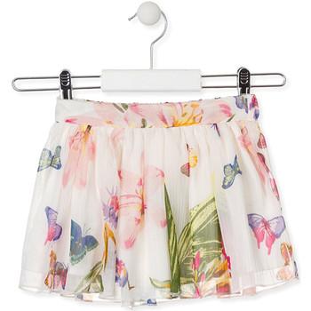 Textil Dívčí Sukně Losan 016-7781AL Bílý