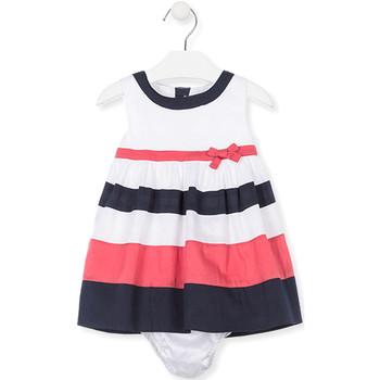 Textil Dívčí Šaty Losan 018-7793AL Bílý