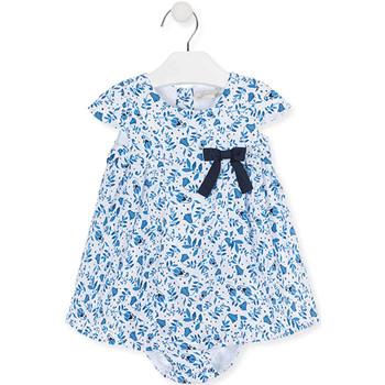 Textil Dívčí Šaty Losan 018-7794AL Modrý