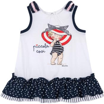 Textil Dívčí Krátké šaty Chicco 09003587000000 Bílý