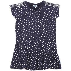 Textil Dívčí Krátké šaty Melby 70A5705 Modrý