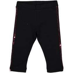 Textil Dívčí Legíny Melby 20F2061 Černá