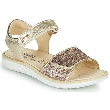 Boty Dívčí Sandály Primigi CYRIELLE Zlatá