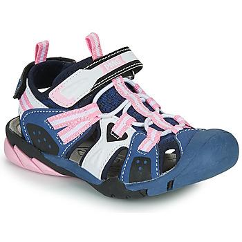 Boty Dívčí Sportovní sandály Primigi CAMMI Tmavě modrá / Růžová