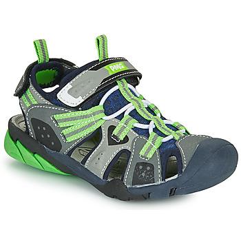 Boty Chlapecké Sportovní sandály Primigi ANATI Šedá / Zelená