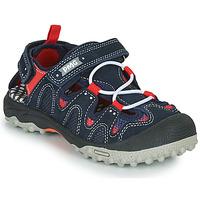 Boty Chlapecké Sportovní sandály Primigi ALEX Tmavě modrá / Černá / Červená
