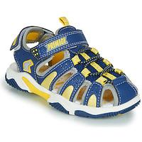 Boty Chlapecké Sportovní sandály Primigi ISMAEL Modrá / Žlutá