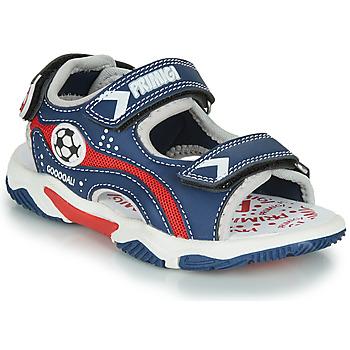 Boty Chlapecké Sandály Primigi MATHIS Tmavě modrá / Červená