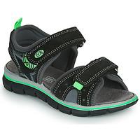 Boty Chlapecké Sandály Primigi NOIRA Černá / Zelená