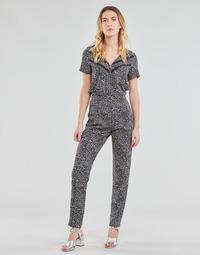 Textil Ženy Overaly / Kalhoty s laclem Ikks BS32005-02 Černá