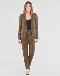 Textil Ženy Turecké kalhoty / Harémky Ikks BS22085-75 Hnědá