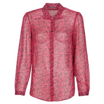 Textil Ženy Košile / Halenky Ikks BS12155-38 Malinová