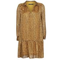 Textil Ženy Krátké šaty Ikks BS30195-75 Hnědá