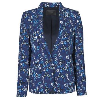 Textil Ženy Saka / Blejzry Ikks BS40295-49 Tmavě modrá