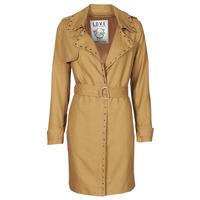 Textil Ženy Pláště Ikks BS42025-63 Oříšková