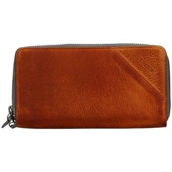 Taška Ženy Náprsní tašky Lagen JK-200/D - hnědá dámská kožená peněženka Hnědá
