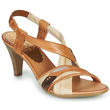 Boty Ženy Sandály Betty London POULOI Zlatohnědá