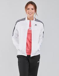 Textil Ženy Teplákové bundy adidas Performance MARATHON JKT W Bílá