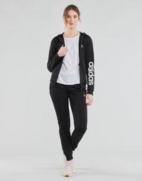 Textil Ženy Teplákové soupravy adidas Performance W LIN FT TS Černá