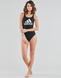 Textil Ženy jednodílné plavky adidas Performance SH3.RO BOS S Černá