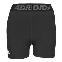 Textil Ženy Kraťasy / Bermudy adidas Performance TF SHRT 3 BAR T Černá
