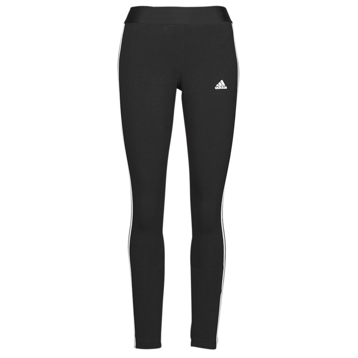 Levně adidas Legíny / Punčochové kalhoty W 3S LEG Černá