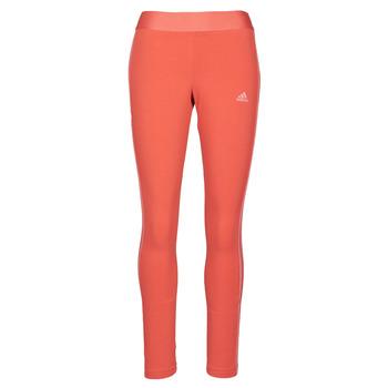 Textil Ženy Legíny adidas Performance W 3S LEG Červená