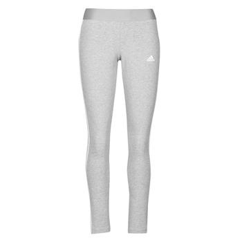Textil Ženy Legíny adidas Performance W 3S LEG Šedá