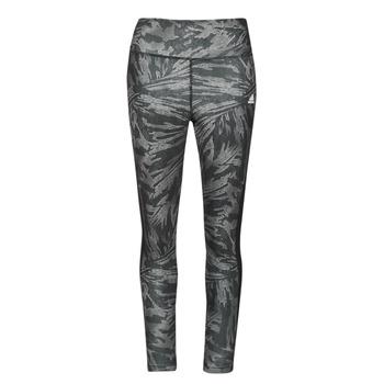 Textil Ženy Legíny adidas Performance W UFORU 78 TIG Černá