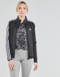 Textil Ženy Teplákové bundy adidas Performance W 3S TJ Černá